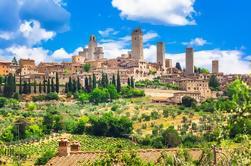 Viagem de um dia para San Gimignano Volterra e Certaldo