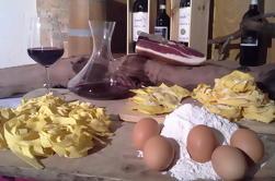 Clases de cocina en la granja toscana tradicional