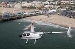 Los Angeles Beach Cities Vuelo en helicóptero