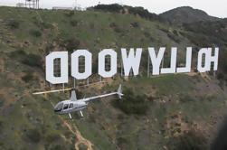 Vuelo del helicóptero de la tira de Hollywood