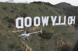 Excursión a la costa de Los Ángeles: Excursión en helicóptero de Hollywood Strip antes o después del crucero