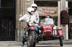 Private WWII Side Car Tour mit einem lokalen in Barcelona