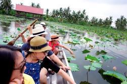 Canal privado de dia inteiro e turismo rural em Bangkok incluindo almoço