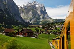 Eiger - Vista panorámica del glaciar Jungfrau (desde Zurich)