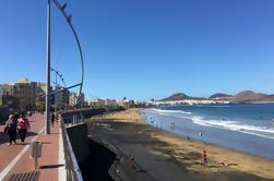 Excursión de senderismo por el barrio de Santa Catalina en Las Palmas de Gran Canaria