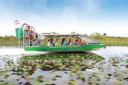 Everglades Airboat Tour y la demostración del cocodrilo
