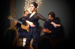 Pequeño grupo de Valencia en autobús con tapas y show flamenco