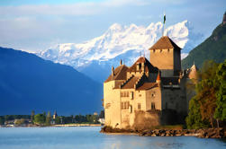 Montreux en Château de Chillon Tour met Cruise