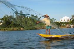 Hoi An experiencia de pesca en el río Cua Dai