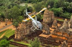Vuelo del helicóptero de Angkor Wat con el viaje del templo