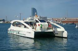 Port Vell und Barcelona Skyline Katamaran Cruise