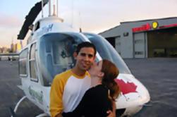 Excursão Privada: Passeio de Helicóptero de Toronto Romântico