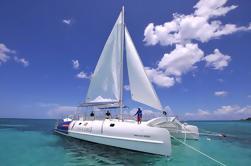 Crucero al atardecer con catamarán de vela de Bayahibe