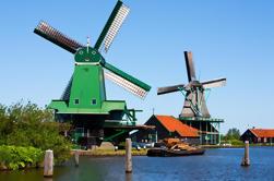 Amsterdam Super Saver: Molinos de viento de Zaanse Schans más una excursión de un día en Delft, La Haya y Madurodam