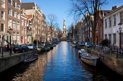 Excursión por la ciudad de Amsterdam con crucero por el canal opcional