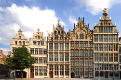 Dia de Bruxelas e Antuérpia de Amsterdã
