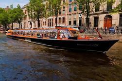 Crucero por el canal de Amsterdam con billete rápido