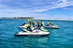 Gold Coast Jet Ski Safari con la opción de actualización de la isla Stradbroke