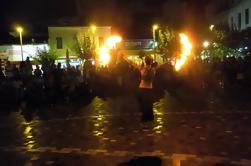 Excursión a pie en grupos pequeños de la vida nocturna de Atenas