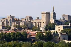 Día completo Avignon Tour privado del Palacio del Papa y Chateauneuf du Pape de Niza