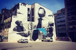 Paseo privado de arte callejero de Atenas