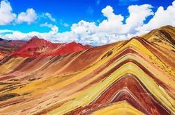 Excursión de un día a la Montaña Arco Iris desde Cusco