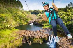 Umauma Falls e Zipline Experience
