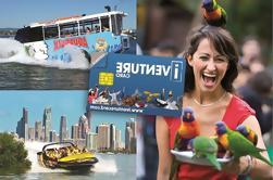 Gold Coast y Brisbane Attraction Pass Incluyendo Currumbin Santuario de Vida Silvestre y Lone Pine Koala Sanctuary