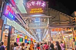 Tour nocturno de Taipei Shilin en el mercado