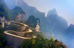 Excursión privada de día de la montaña de Tianmen con Tianmen Fox Fairy Show VIP Seat