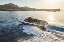 Barco privado Cranchi 26 y Skipper Alquiler en Ibiza