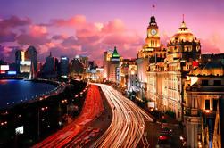 Clase Privada Huangpu Crucero por el Río y Tour por las Luces de la Ciudad por la Noche