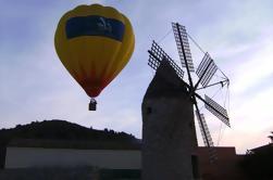 Majorque Coucher de soleil sur un ballon à air chaud