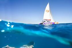 Catamaran à voile dans la baie de Palma avec transfert et Paella Déjeuner