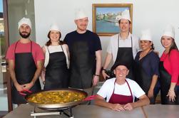 Visita guiada histórica de Valencia y clase de cocina Paella