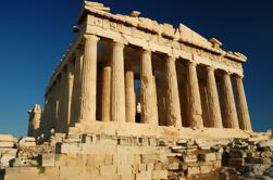 Promenade à pied de l'Acropole comprenant Place Syntagma