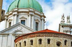 Visita panorámica de Brescia desde Milán con Franciacorta Cata de vinos y almuerzo privado