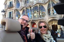 Visite guidée de Barcelone en cabriolet