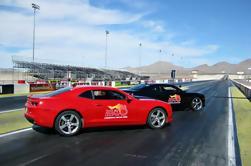 Competición de Camaro de lado a lado en Atlanta Dragway