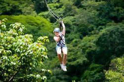 Canopy Zipline Tour desde la Ciudad de Guatemala
