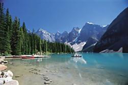 Excursión de un día a los lagos de montaña y cascadas desde Calgary