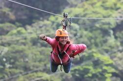100% Adventure Park Combo: Zipline, Superman y Mega Tarzán Tour en Monteverde