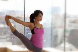 Práctica de Yoga seguida por una experiencia de comida vegetariana en Shanghai