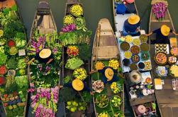 Private Tour: Damnoen Saduak Tour de Mercado Flutuante de Bangkok