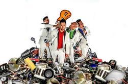 Reciclagem Percussão no Planet Hollywood Resort and Casino