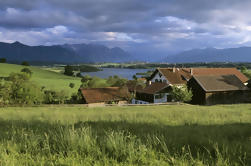 Excursión de un día al pequeño grupo de eBike a los Alpes de Garmisch y Munich Uplands de Munich Incluye almuerzo de picnic