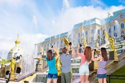 2 dias completos Shore Excursion Visa Visita grátis em pequenos grupos de São Petersburgo e Palácios Suburbanos