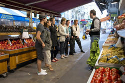 Tour por la mañana en el mercado de París y clase de cocina