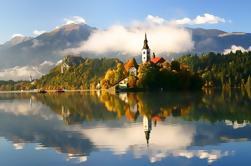 Visita privada guiada de Ljubljana y el lago Bled desde Zagreb