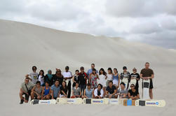 Full Day Pinnacle Desert Explorer de Perth Incluyendo Hillarys y Lancelin Sandboarding